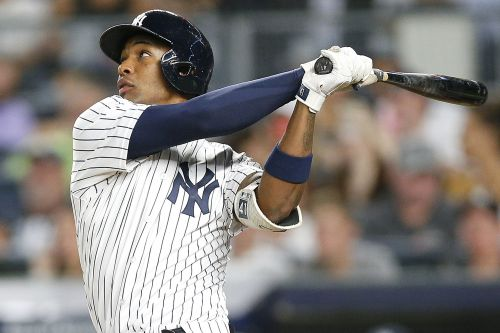Miguel Andujar blasts 25th homer and sets a rookie record