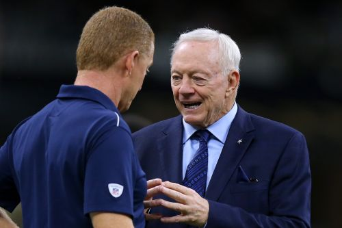 Dallas Cowboys owner Jerry Jones lashes out at radio hosts: 'Get your damn act together'
