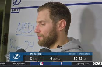 Dan Girardi: Our first period was maybe our best of the playoffs