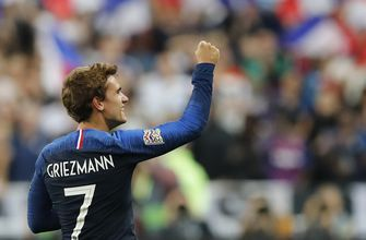 Griezmann scores both goals as France beats Germany 2-1