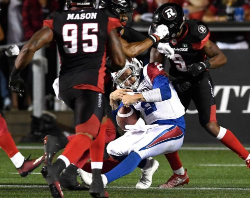 Johnny Manziel goes on concussion protocol after taking hard hit in Alouettes game