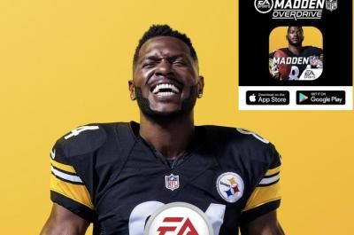 Look: Pittsburgh Steelers star Antonio Brown graces cover of 'Madden NFL 19'