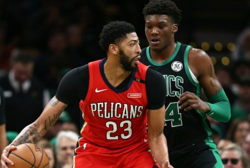 Anthony Davis Says Celtics Are on List of Preferred Trade Destinations