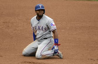 Choo, Pence hit home runs in Rangers 7-6 loss to Angels