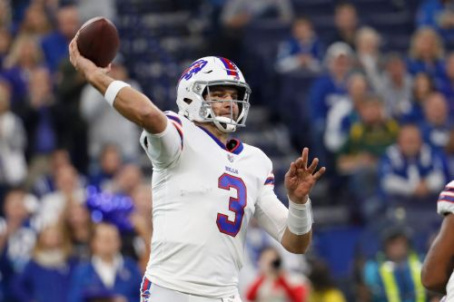 Bills QB Anderson to start against Patriots; Allen ruled out