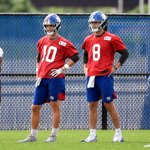 NY Giants training camp preview: Eli Manning, Daniel Jones and the quarterback position