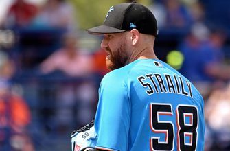 Marlins release veteran right-hander Dan Straily