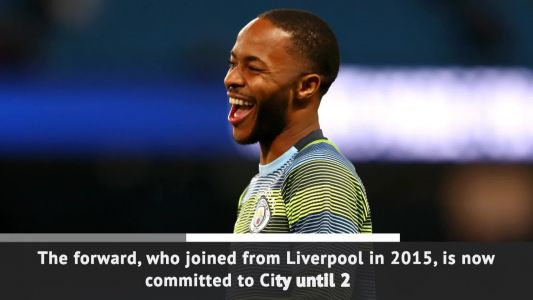 Man City signs Sterling to five-year extension