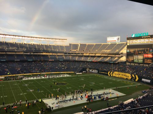 Pro football returns to San Diego: Here's what it's like at an AAF Fleet game
