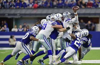 PHOTOS: Cowboys winning streak ends at 5 with 23-0 loss to Colts in Indianapolis