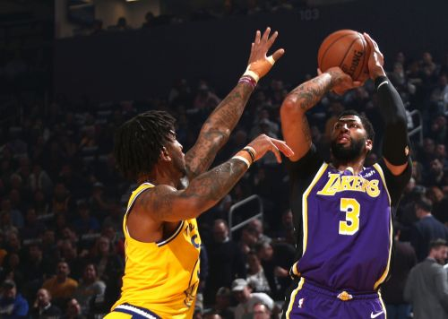 Lakers roll as Anthony Davis steps up in LeBron James' absence
