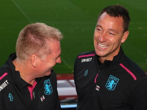Villa boss Smith: Humble Terry showed up early for with his pencil case ready!