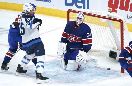 Pierre-Luc Dubois scores overtime winner as Winnipeg Jets edge Montreal Canadiens 4-3