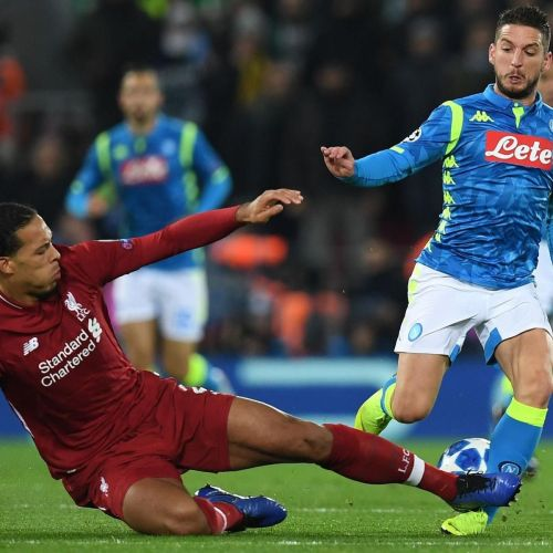 Virgil van Dijk Defends Tackle on Dries Mertens After Carlo Ancelotti Comments