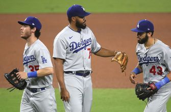 Padres can't capitalize with bases loaded in the ninth, fall to Dodgers, 3-1