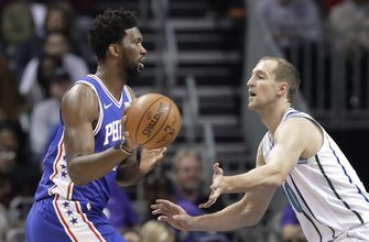 Walker's 60 points not enough; 76ers top Hornets 122-119