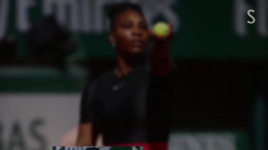 Social: Serena Williams Gets First Win at Major Since Her Pregnancy