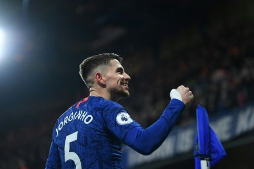 Lampard applauds Jorginho's professionalism