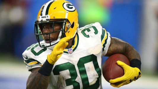 Jamaal Williams injury update: Packers RB 'fine' after spraining ankle against Steelers, report says