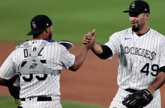 Antonio Senzatela tosses complete game as Rockies top Athletics, 3-1