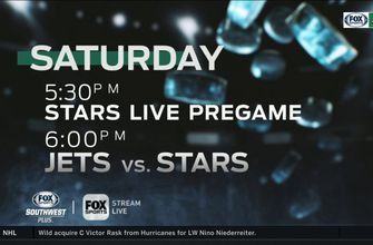 Stars turn attention to the Jets on Saturday Night | Stars Live