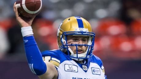 Nichols injury forces Bombers to go with rookie QB to start season