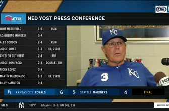 Yost: Soler's home run 'was big for our team'