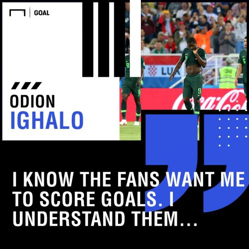 Odion Ighalo reveals he nearly quit Nigeria duty after death threats