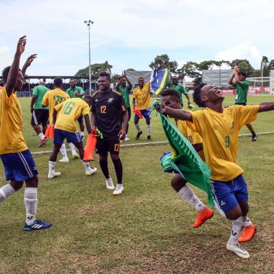 History made as Solomons reach world stage