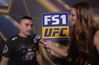 Ricardo Lamas speaks after TKO victory | INTERVIEW | POST-FIGHT | UFC FIGHT NIGHT