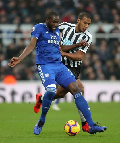 Schar double leads Newcastle to 3-0 win over Cardiff in EPL