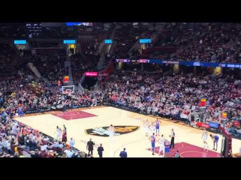 Matthew Dellavedova receives big ovation in first home game back at Quicken Loans Arena
