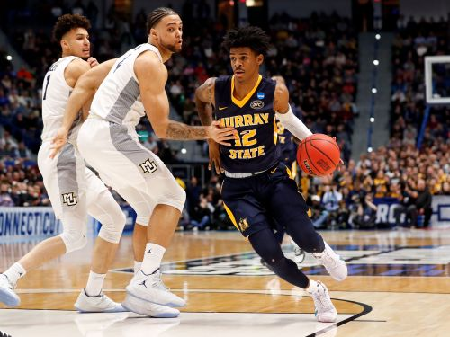 Ja Morant records triple-double to lead No. 12 Murray State to upset of No. 5 Marquette