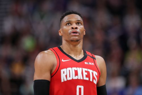 Rockets' Russell Westbrook diagnosed with quad injury, will miss final seed-in games