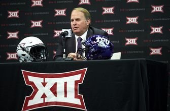TCU surprises with QB at Big 12 media day; Sooner stays home