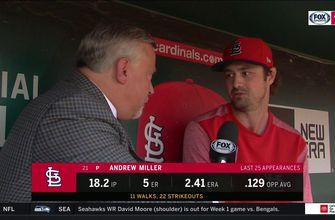 Miller: Cardinals' relievers are 'all better when we pitch more'