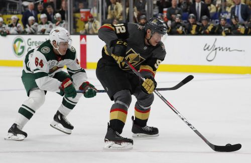 Coyle's third-period goal sends Wild past Golden Knights 4-2