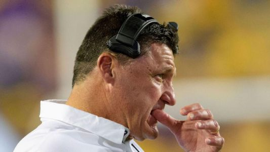 LSU's Orgeron: Shouldn't have hired Canada