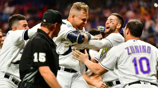 MLB wrap: Rays take lead over Indians in American League wild-card race