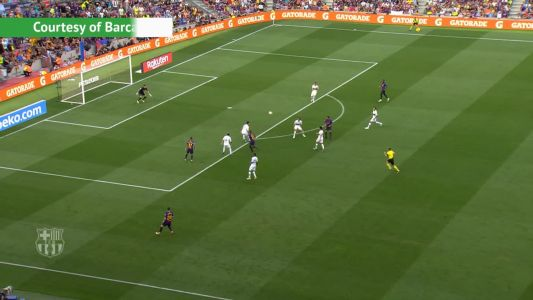 Rafinha finishes off Barca team goal