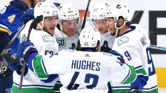 Major storylines to track as Canucks race past Blues, Canadiens trail Flyers