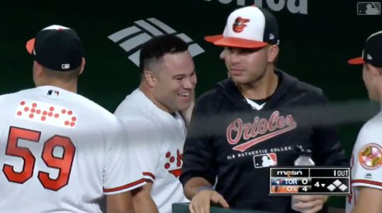 Watch: Orioles Rookie DJ Stewart's First MLB Hit Turns Into Little League Homer