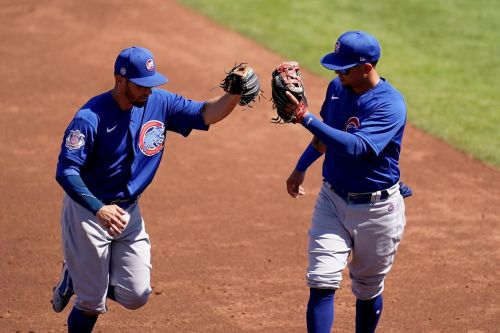 Lester pitches 2 innings, returns from gland removal surgery