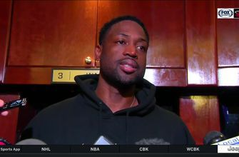 Dwyane Wade on how he feels returning after missing 7 games, loss to Nets