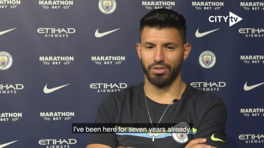 'Breaking records is always beautiful' - Aguero signs City extension