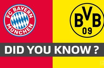 3 facts you didn't know about the title battle between Bayern Munich and Borussia Dortmund | 2019 Bundesliga