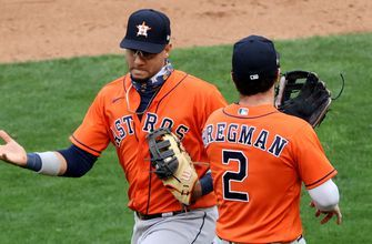 Astros game-ending double play secures 4-1 win over Twins in Game 1 of AL Wild Card series