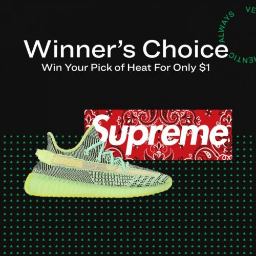 StockX Presents Winners Choice ReStockX! Win Your Heat for $1!