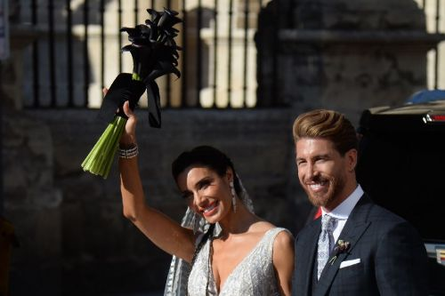 Ramos marries TV personality in Galactico wedding 'like no other'