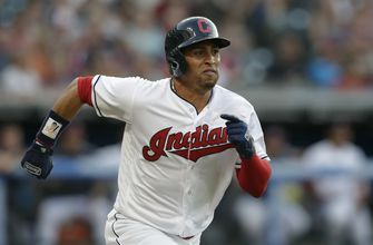 Indians OF Martin cleared to work out after medical scare